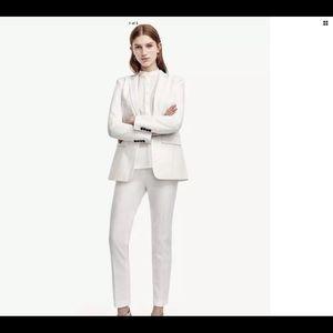 Ann Taylor One Button Cotton Blend Jacket Size 2T